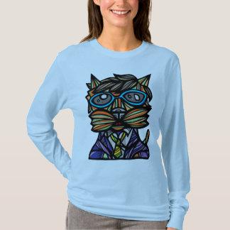 """Kool Kat"" Women's Long Sleeve Shirt"