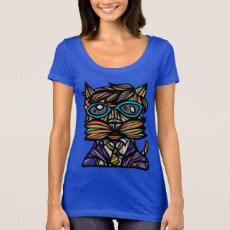 """""""Kool Kat"""" Women's Scoop Neck T-Shirt"""