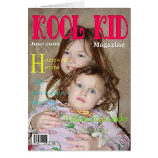 Kool Kid Birthday Card Greeting Card