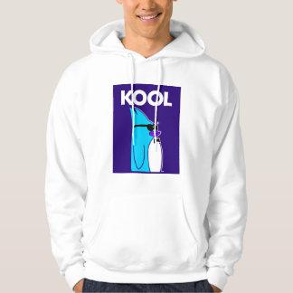 KOOL Penguin™ Brand Men's White Hoodie