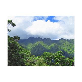 Koolau Mountains Canvas Print