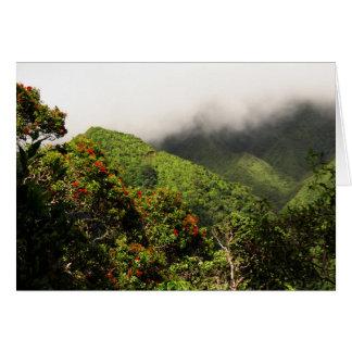 Koolau Mountains Card