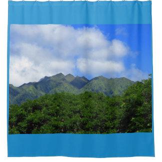 Koolau Mountains Shower Curtain