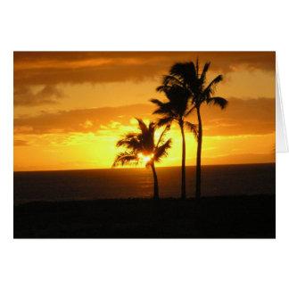Ko'olina beach , Oahu Hawaii Card