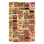 KOOLshades Deco : Checkered Glitter Gold Sparkle Stationery Design