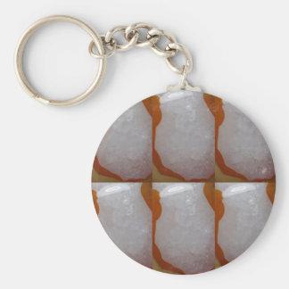 KOOLshades HealingSTONE Crystal Sparkle White Key Chains