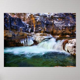 Kootenai River Falls Poster