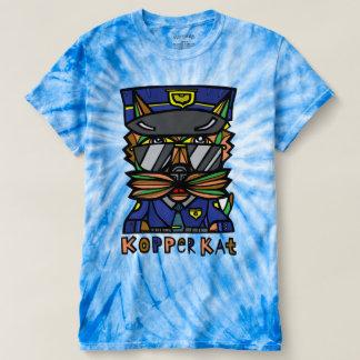 """""""Kopper Kat"""" Men's Cyclone Tie-Dye T-Shirt"""