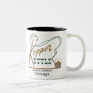 Kopper Kettle Restaurant, Chicago, IL Two-Tone Coffee Mug
