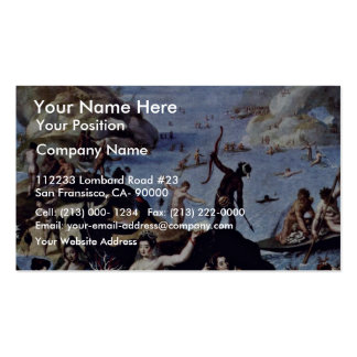 Korallenfang By Zucchi Jacopo (Best Quality) Pack Of Standard Business Cards