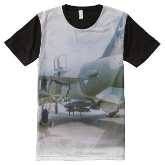 Korat AFB Thailand 1968 F-105 All-Over Print T-Shirt