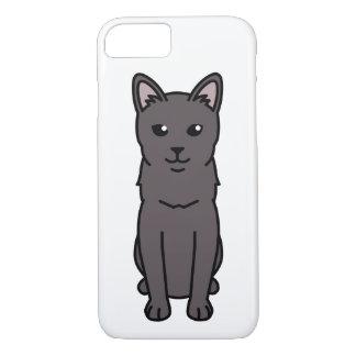 Korat Cat Cartoon iPhone 7 Case