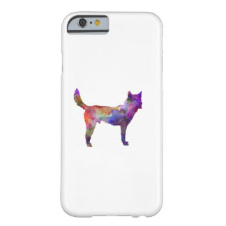 Korea Jindo Dog in watercolor Barely There iPhone 6 Case