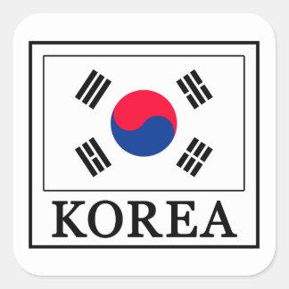 Korea Sticker