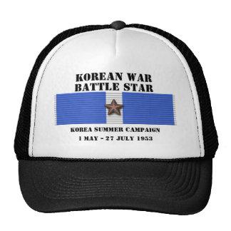 Korea Summer 1953 Campaign Cap