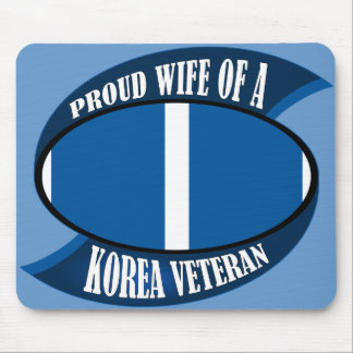 Korea Vet Wife Mouse Pad