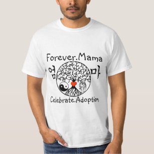 Korean Adoption Mama T-Shirt
