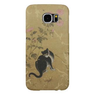 Korean art Jeong Seon-Chuil hanmyo Cat Samsung Galaxy S6 Cases