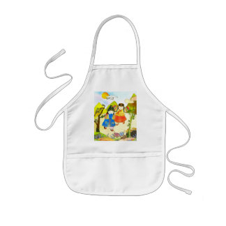 Korean Baby's First Birthday Kids Apron