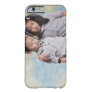Korean children reading book near map barely there iPhone 6 case