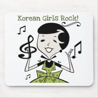 Korean Girls Rock Mouse Pad