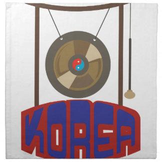Korean Gong Napkins