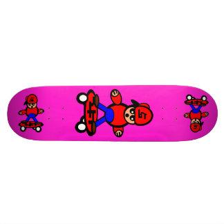 Korean Kid Skateboard Hot Magenta