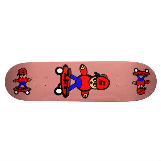 Korean Kid Skateboard New York Pink