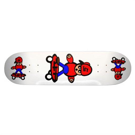 Korean Kid Skateboard White