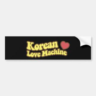Korean Love Machine Bumper Sticker