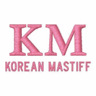 Korean Mastiff Monogram