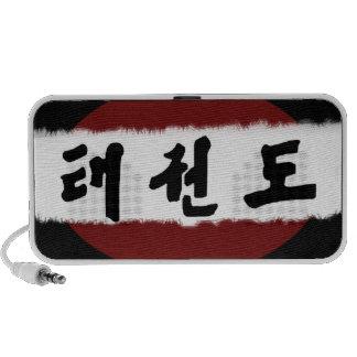 Korean Taekwon-Do Character Speaker
