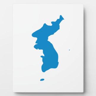 Korean Unification Communist Socialist Flag Plaque
