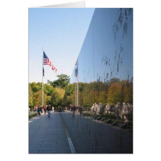 Korean War Memorial veterans Card