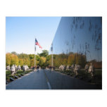 Korean War Memorial veterans Postcards