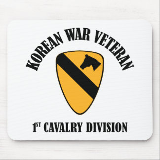 Korean War Veteran - 1st Cav Mouse Pad