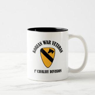 Korean War Veteran - 1st Cav Coffee Mug