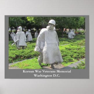 Korean War Veterans Memorial - poster