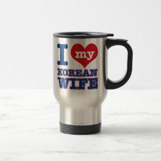 Korean wife designs travel mug
