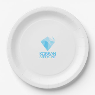 koreanmedicine logo paper plate