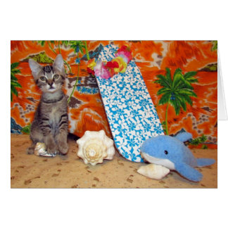 Kori's Hawaiin Adventure Card #1