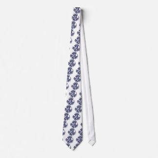 Korondi folk motif tie