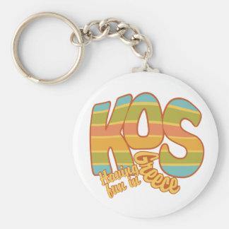 KOS Greece custom key chain
