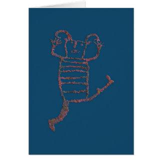 Koshari Clown Dancer, Man Image 1 Card