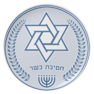 Kosher Division Plate