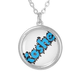 Kosher text design pendants