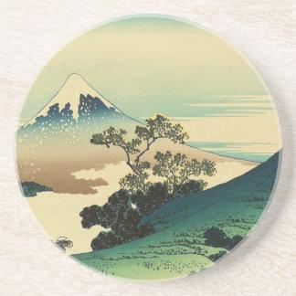 Koshu Inume Toge - Katsushika Hokusai Ukiyo-e Art Coaster