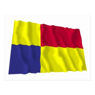 Kosice Waving Flag Postcard