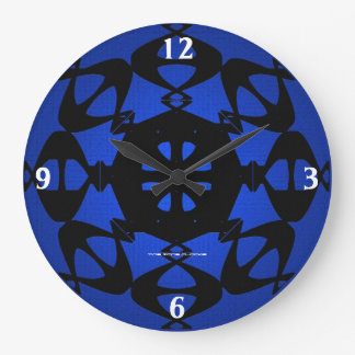 Kosmic Karma Large Wall Clock