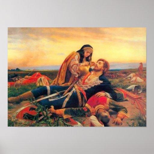 Kosovka Devojka - Uros Predic Poster